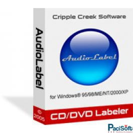 AudioLabel CD/DVD/Bluray Label Maker