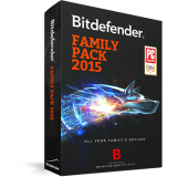 Bitdefender Family Pack 3PC 1 năm